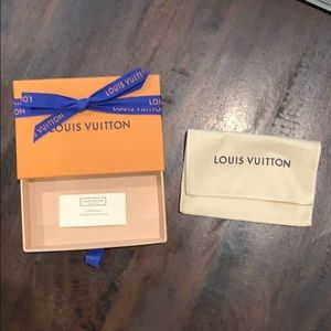 Authentic Small Luis Vuitton Box